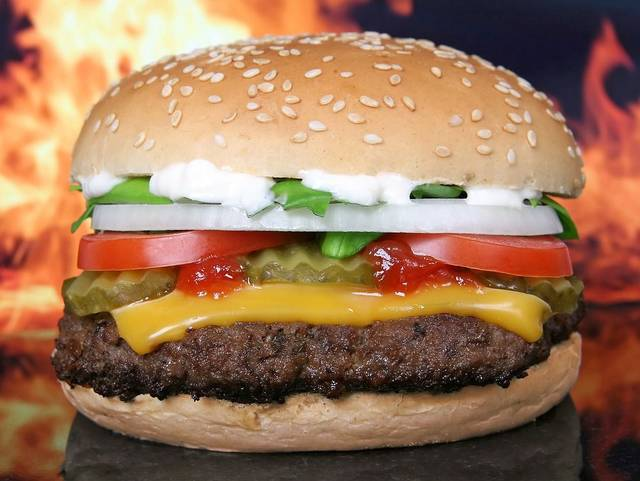 Hamburger Burger Barbeque