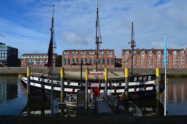 Bremen City Weser
