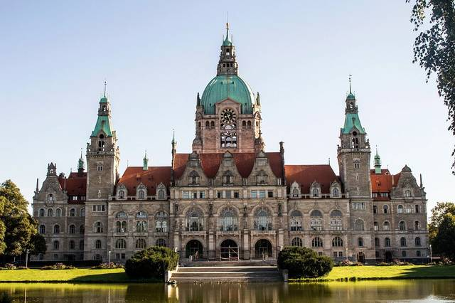 Hannover City Hall Germany