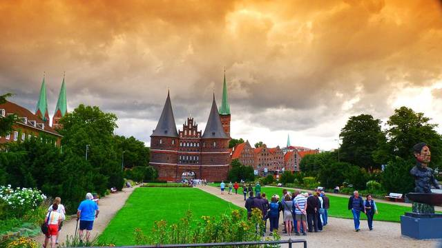 Holsten Gate Lübeck Historically