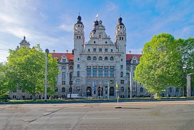 New Town Hall Leipzig Saxony