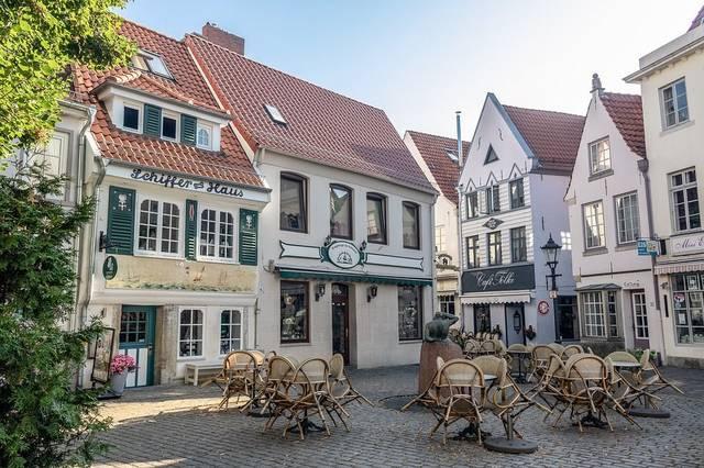 Bremen Schnoor Historic Center